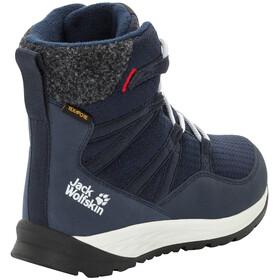 Jack Wolfskin Polar Bear Texapore High Stiefel Kinder dark blue/off-white